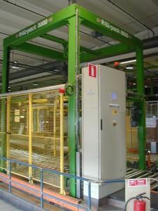 Med PALL-PACK 8000 har flaskhalsen i fabriken vidgats