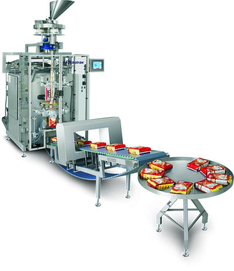 Förpackningsmaskin for livsmeddel